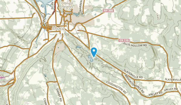 East Ithaca, New York Map