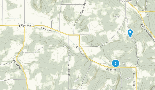 East Otto, New York Map