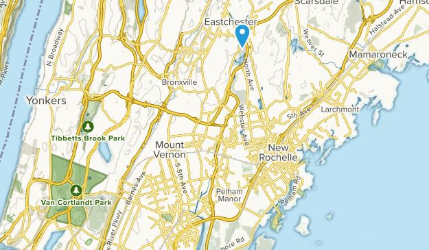 Eastchester, New York Map