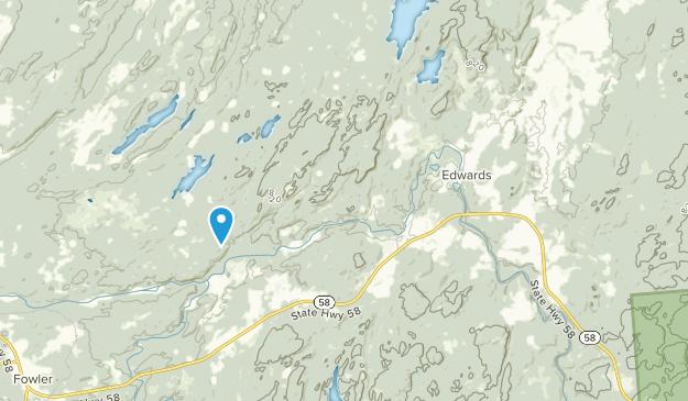 Edwards, New York Map