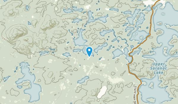 Floodwood, New York Map