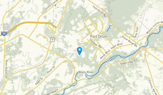 Fort Drum, New York Map
