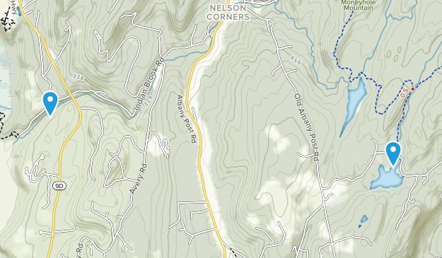 Gilbert Corners, New York Map
