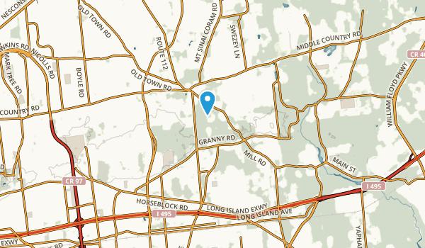 Gordon Heights, New York Map