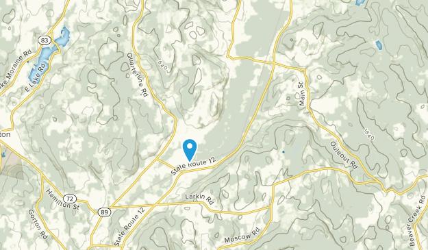 Hubbardsville, New York Map
