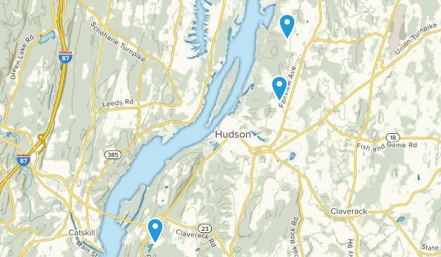 Hudson, New York Map