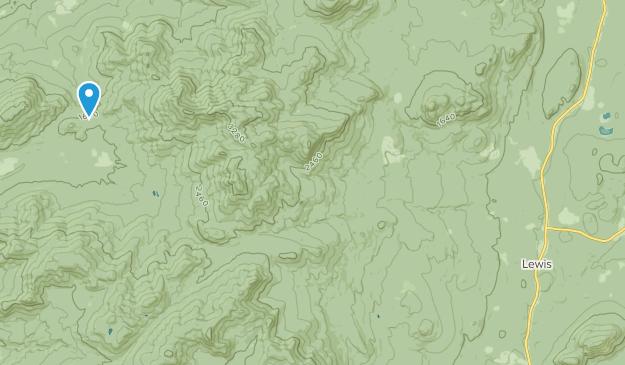 Lewis, New York Map