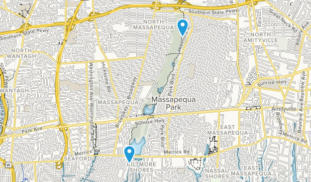 Massapequa Park, New York Map