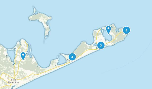 Montauk, New York Map