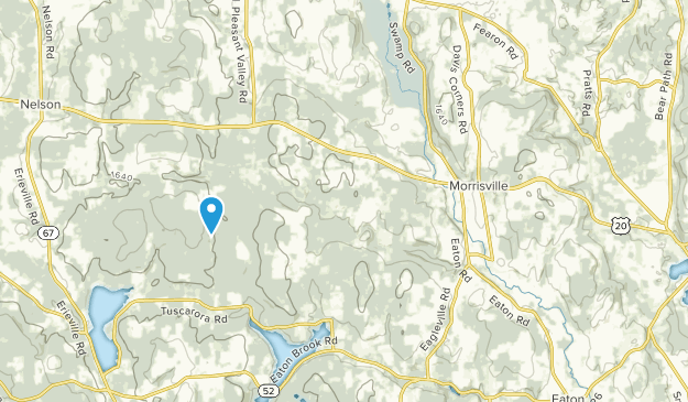 Morrisville, New York Map