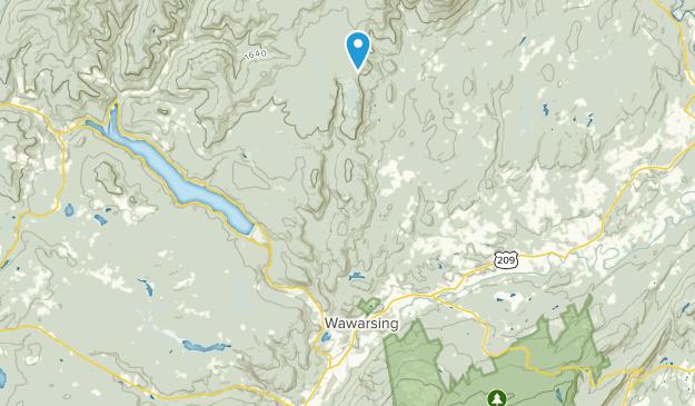 Napanoch, New York Map