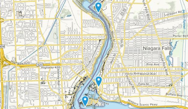 Niagara Falls, New York Map