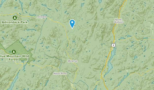 Olmstedville, New York Map