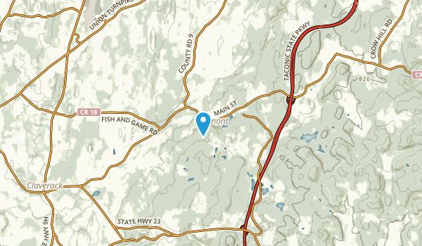 Philmont, New York Map