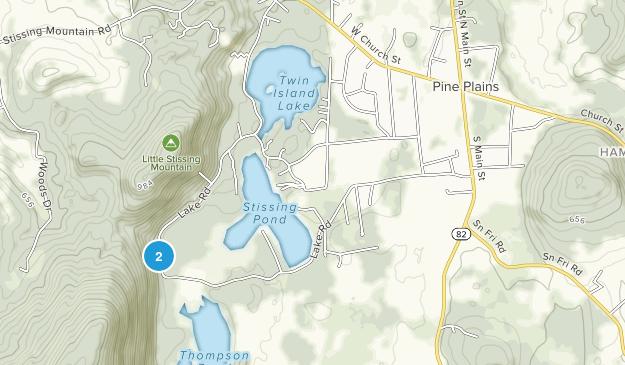 Pine Plains, New York Map