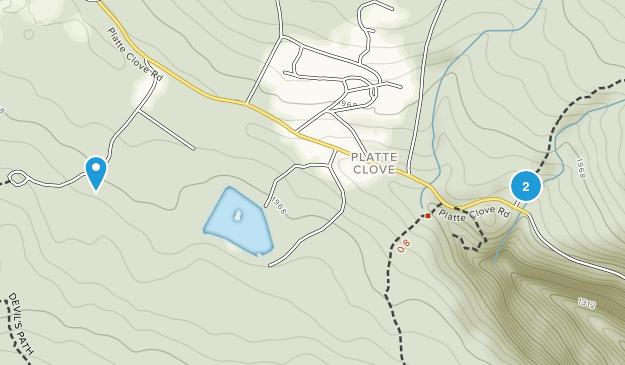 Platte Clove, New York Map