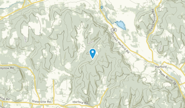 Pleasant View Mobile Home Park, New York Map