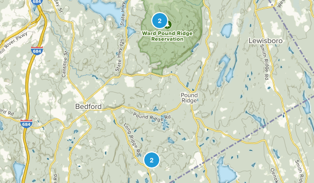 Pound Ridge, New York Map