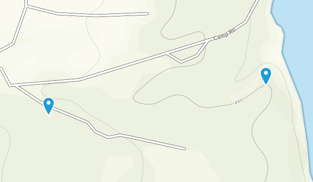 Randall Crossing, New York Map