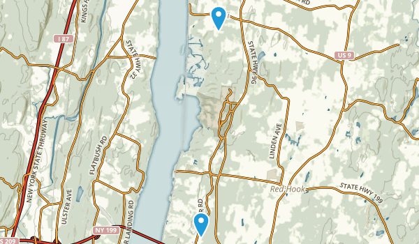 Red Hook, New York Map