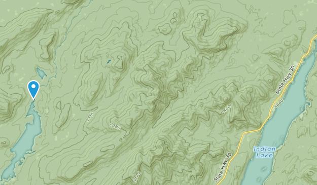 Sabael, New York Map