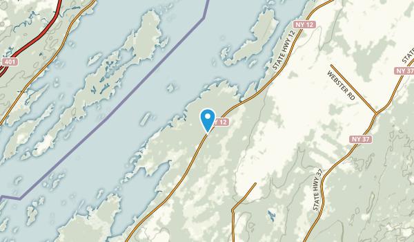 Schermerhorn Landing, New York Map