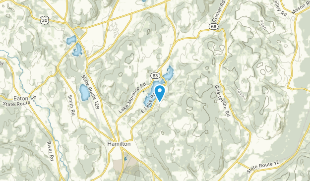Sigby Corners, New York Map