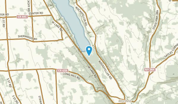 Southeast Owasco, New York Map