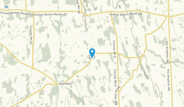 Stanley, New York Map
