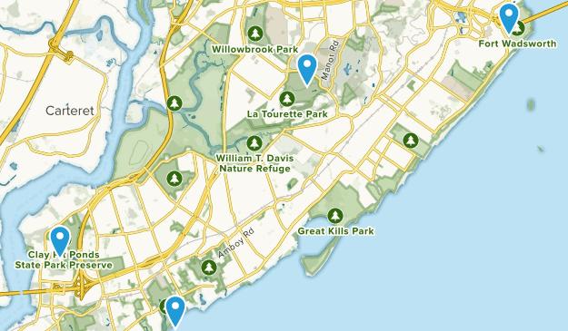 Staten Island, New York Map