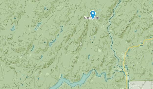 Stony Creek, New York Map