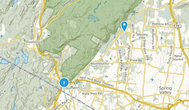 Suffern, New York Map