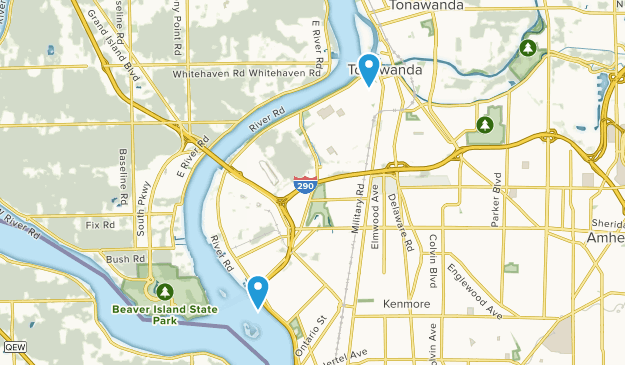 Tonawanda, New York Map