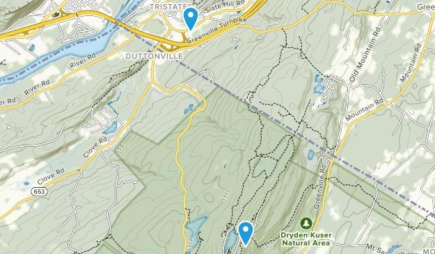 Tristates, New York Map
