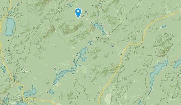 Vermontville, New York Map