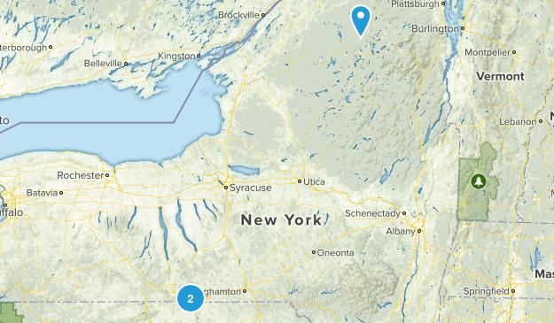 Waverly, New York Map