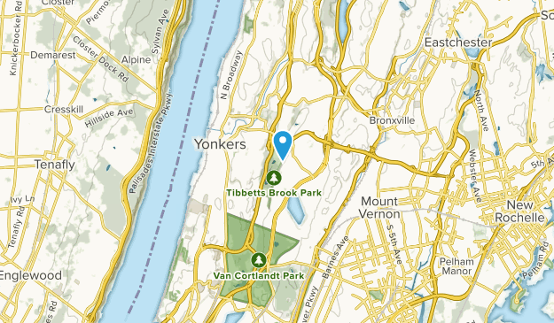 Yonkers, New York Map