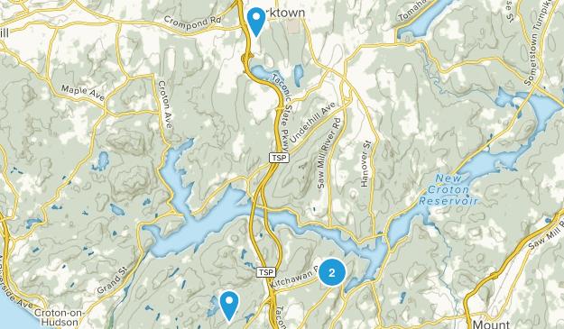 Yorktown, New York Map