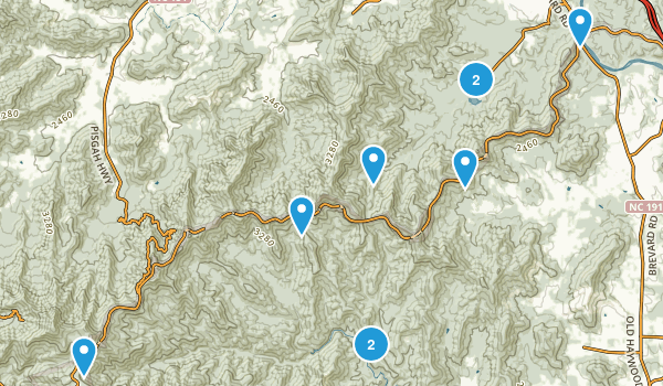 Best Trails Near Arden North Carolina Photos Reviews - Brevward map of us
