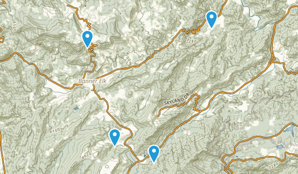 Banner Elk, North Carolina Map