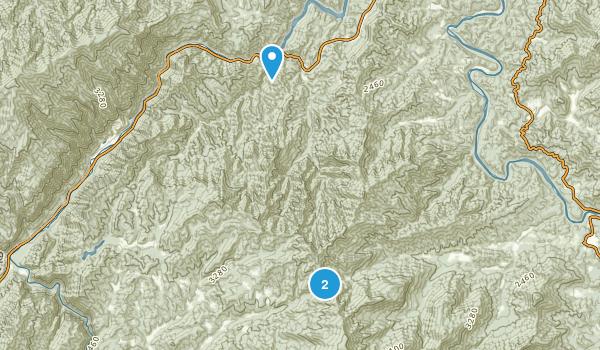 Burnett Fields, North Carolina Map