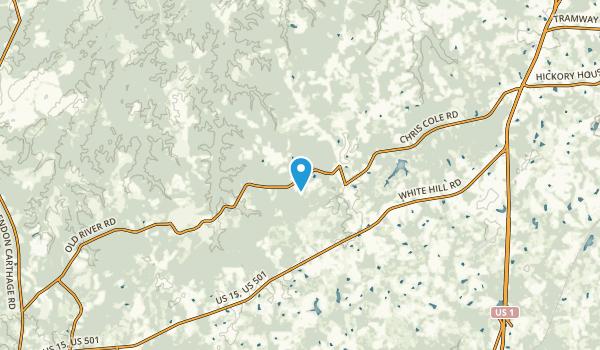 Cameron, North Carolina Map