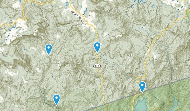 Cashiers, North Carolina Map