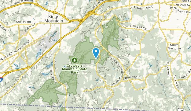 Charllote, North Carolina Map