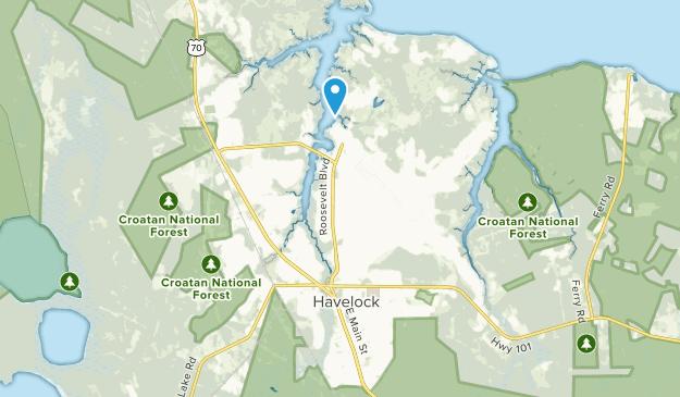 Cherry Point, North Carolina Map