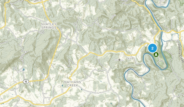 Crumpler, North Carolina Map
