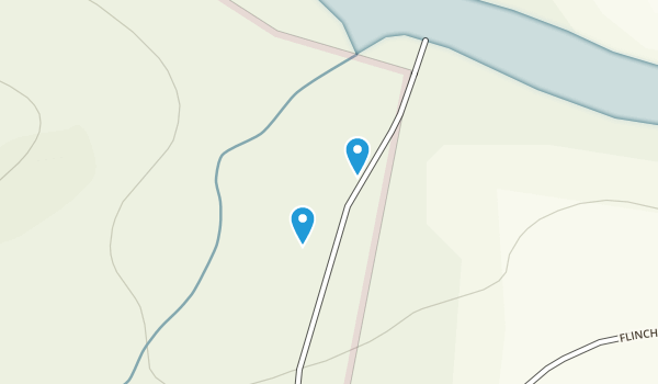 Dan River Shores, North Carolina Map