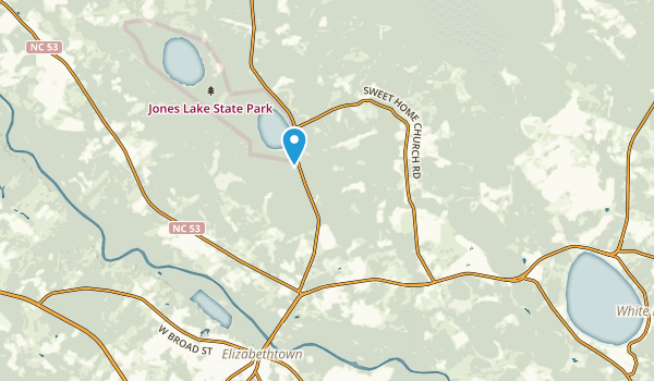 Elizabethtown, North Carolina Map