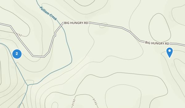 trail locations for Flat Rock, North Carolina