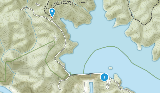 Fontana Village, North Carolina Map